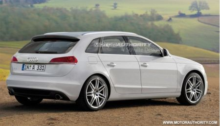 Audi A3 station wagon - render
