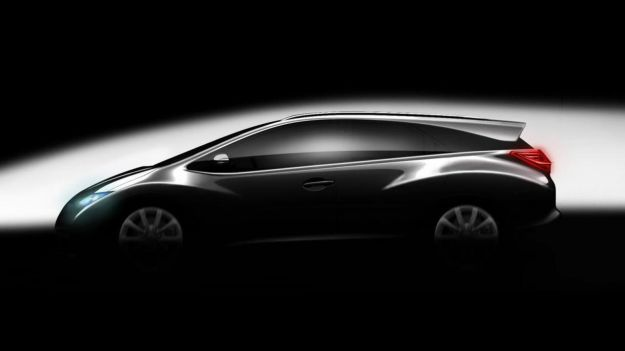 Honda Civic Wagon-teaser