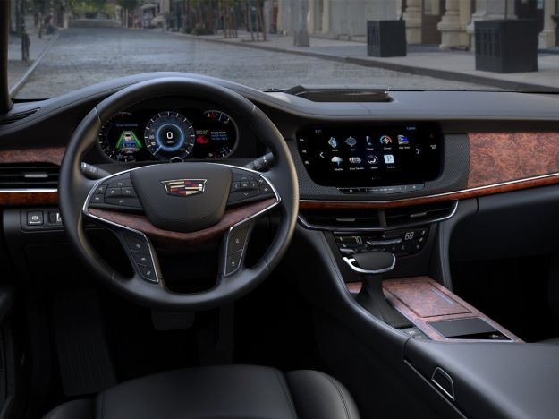 Cadillac CT6 interni