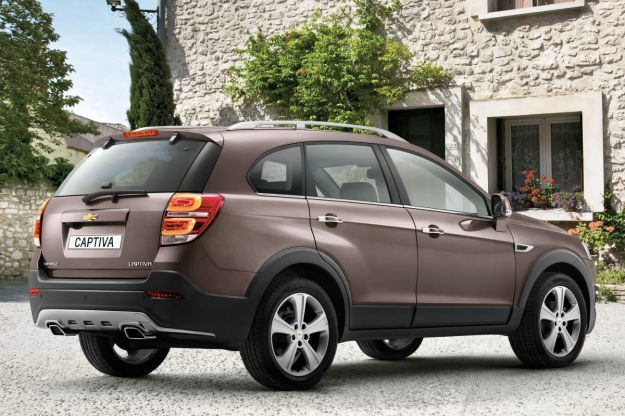 Chevrolet Captiva 2013 restyling
