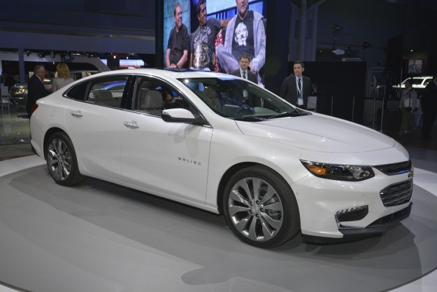 Chevrolet Malibu, Salone New York 2015 (1)
