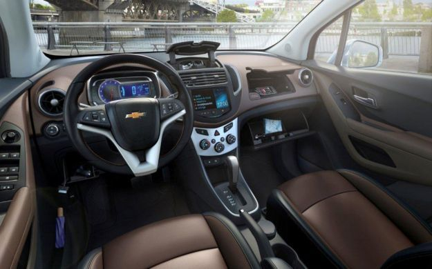 Chevrolet Trax interni