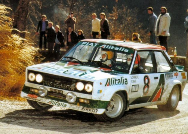 Fiat Abarth 131 Rally Corsa 1976