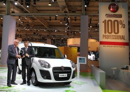 Fiat Doblò Cargo International Van of the Year 2011