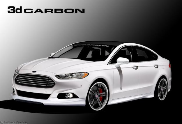 Ford Fusion by 3dCarbon SEMA