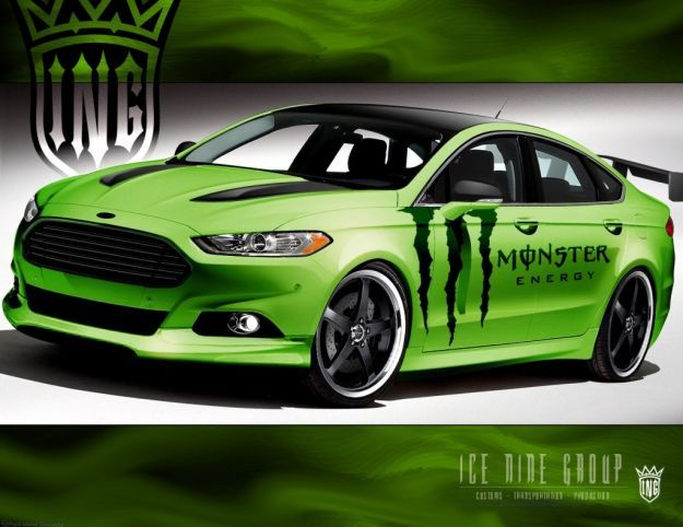 Ford Fusion by Ice Nine Group SEMA