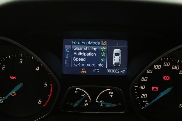 Ford's Eco Mode display
