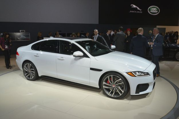 Jaguar XF, Salone New York 2015 (1)