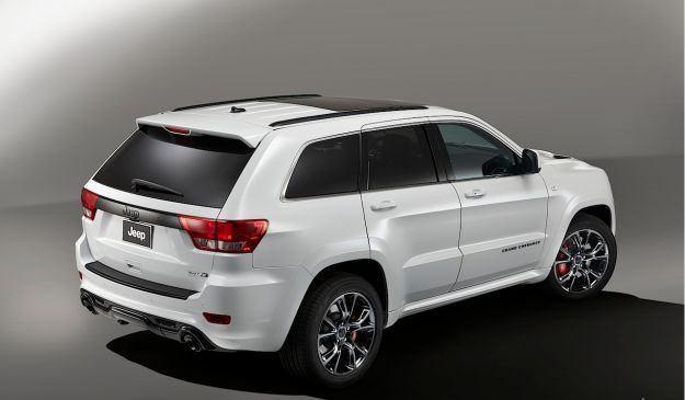 Jeep Grand Cherokee Limited Edition Salone di Parigi 2012 posteriore