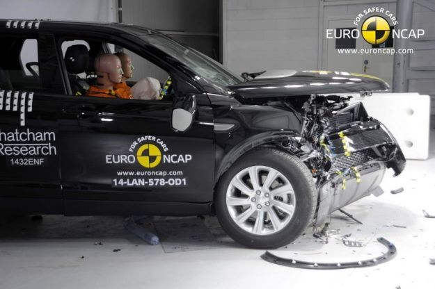 Land Rover Discovery Sport 2014 Crash Test