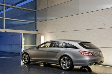 Mercedes CLS Shooting Brake 2