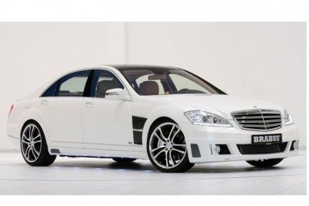 Mercedes S350 Brabus frontale