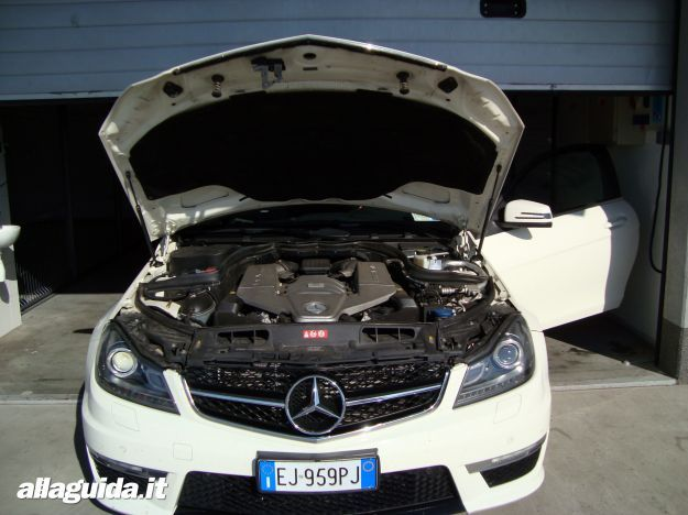 Motore Mercedes C63 AMG Performance Coupe