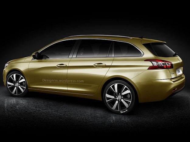 Peugeot 308 Station Wagon 2014 rendering