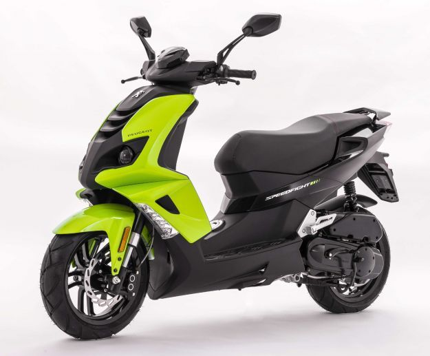 Peugeot Speedfight fluo green