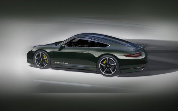 Porsche 911 Club Coupe, fiancata