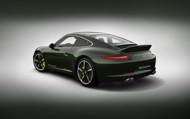 Porsche 911 Club Coupe,posteriore