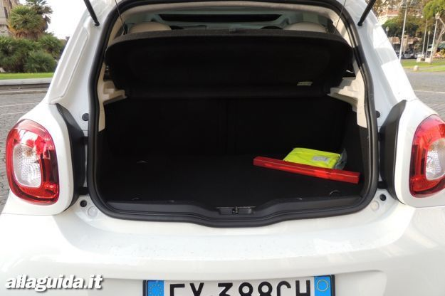 Smart ForFour Bagagliaio