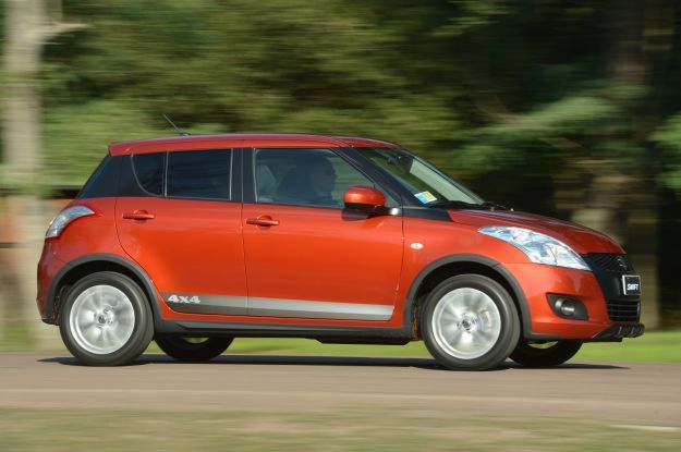 Suzuki Swift 4x4 Outdoor fiancata