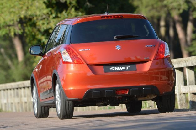 Suzuki Swift 4x4 Outdoor posteriore