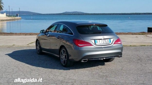 Test Drive Mercedes CLA Shooting Brake