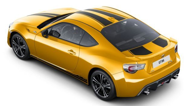 Toyota GT86 Limited Edition posteriore