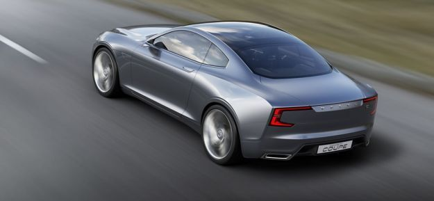 Volvo Concept Coupe 04 rear top moving exterior