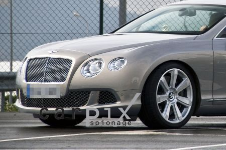 bentley gt restyling frontale