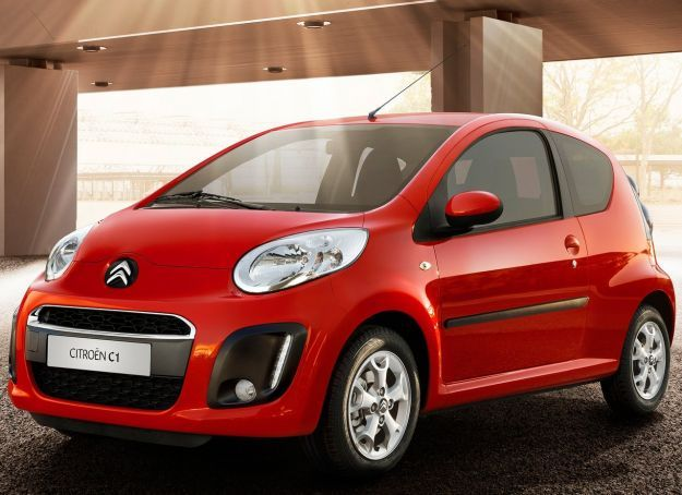 citroen c1 restyling city car 2012