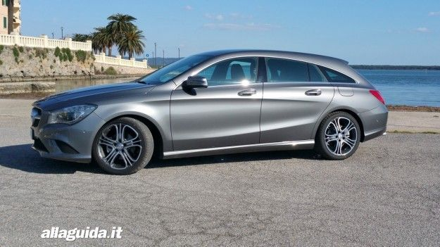 dimensioni di mercedes cla shooting brake