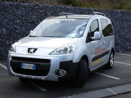Peugeot multispazio Partner Tepee Outdoor turbodiesel