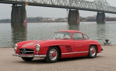 mercedes 300 sl coupe frontale