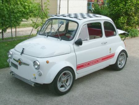 Old Fiat 500 Abarth