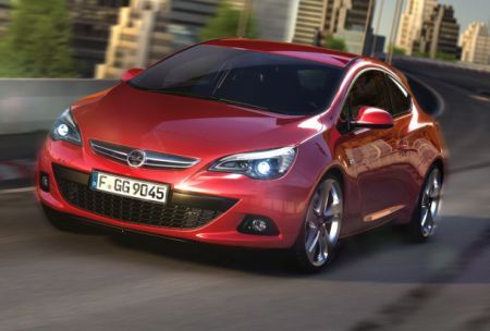 opel astra 2012 frontale