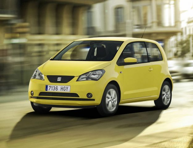 seat mii city car 2012
