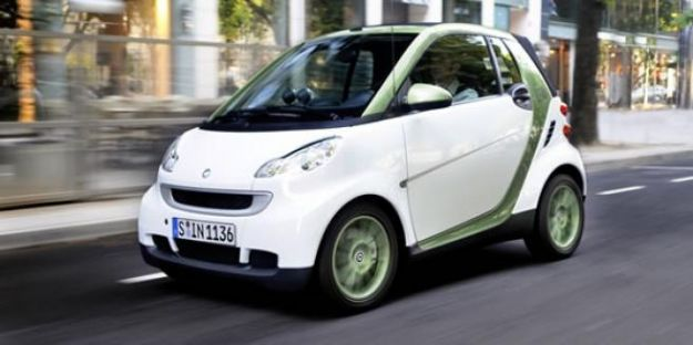 smart fortwo electric drive frontale