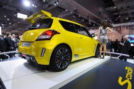 suzuki swift s concept melbourne 2011 retro