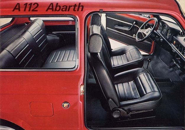 terza serie abarth interni