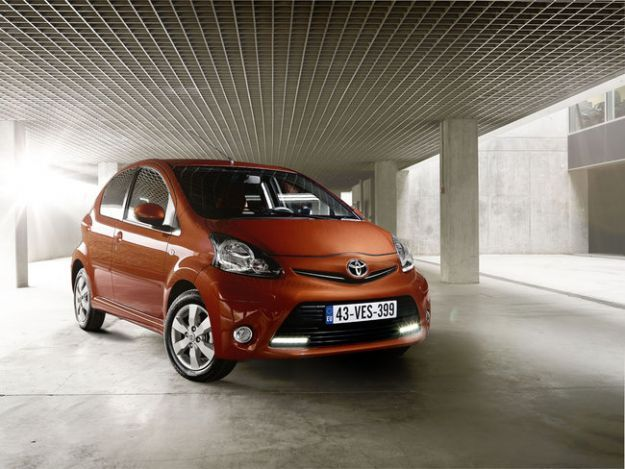 toyota aygo 2012 city car