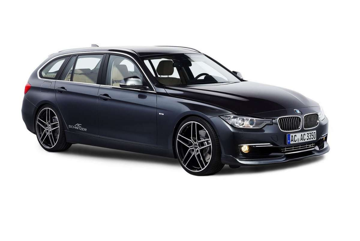 Bmw Serie 3 Touring by AC Schnitzer laterale anteriore