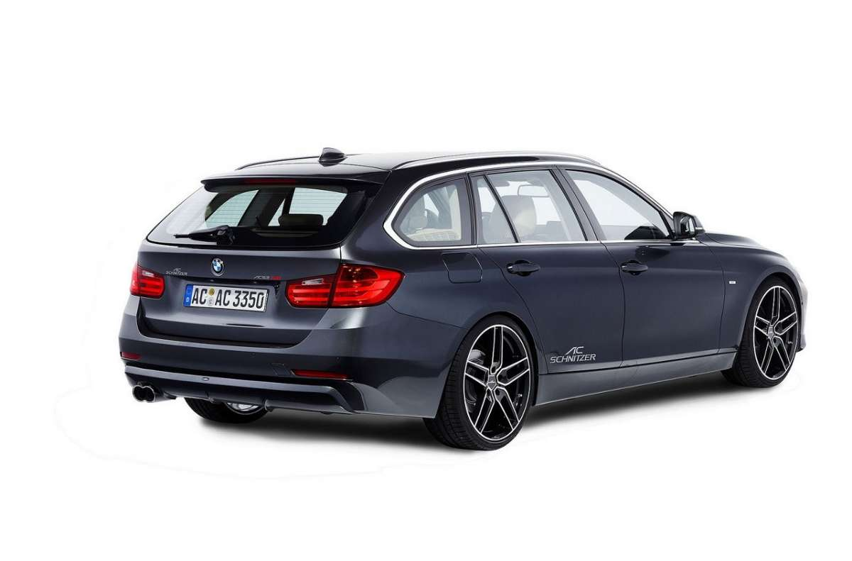 Bmw Serie 3 Touring by AC Schnitzer laterale posteriore destro