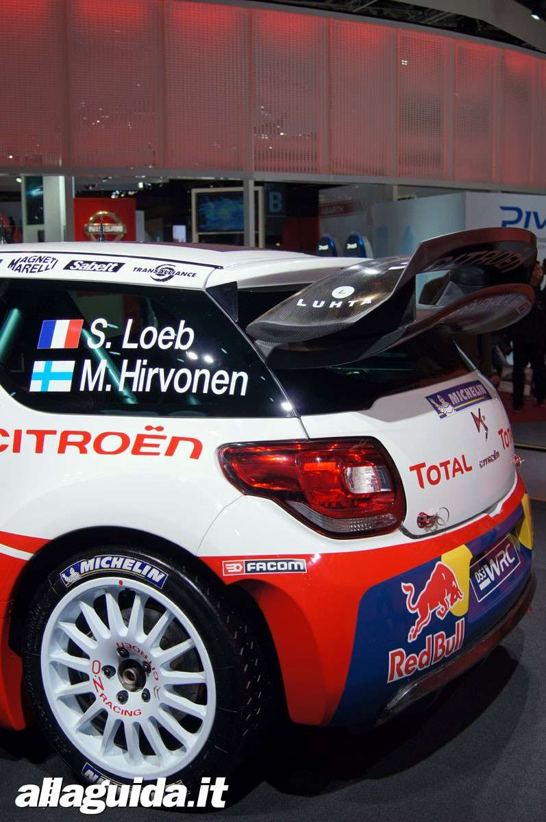 Citroen DS3 WRC, Salone di Parigi 2012 - 01