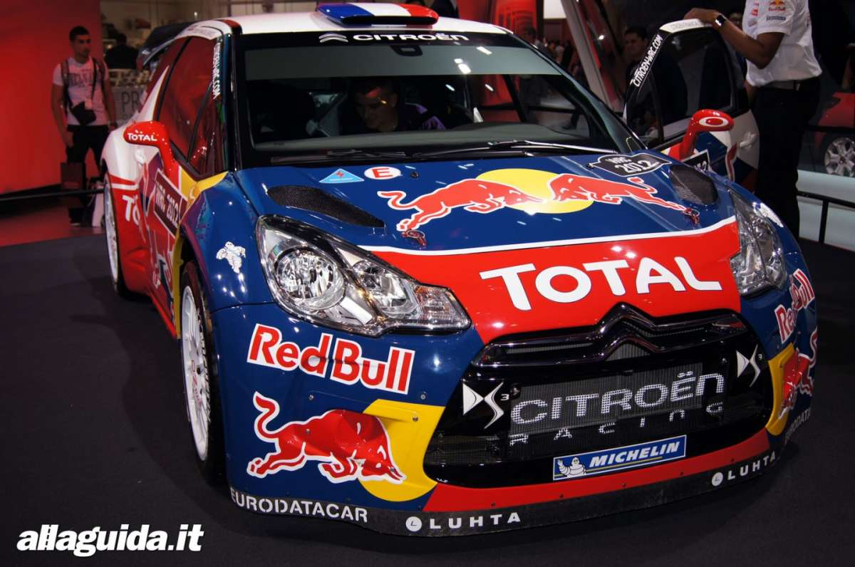 Citroen DS3 WRC, Salone di Parigi 2012 - 02