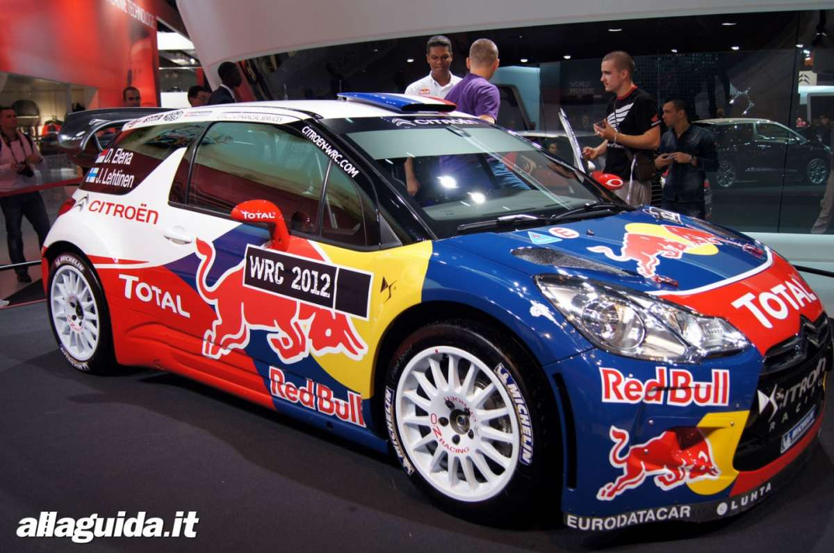 Citroen DS3 WRC, Salone di Parigi 2012 - 03