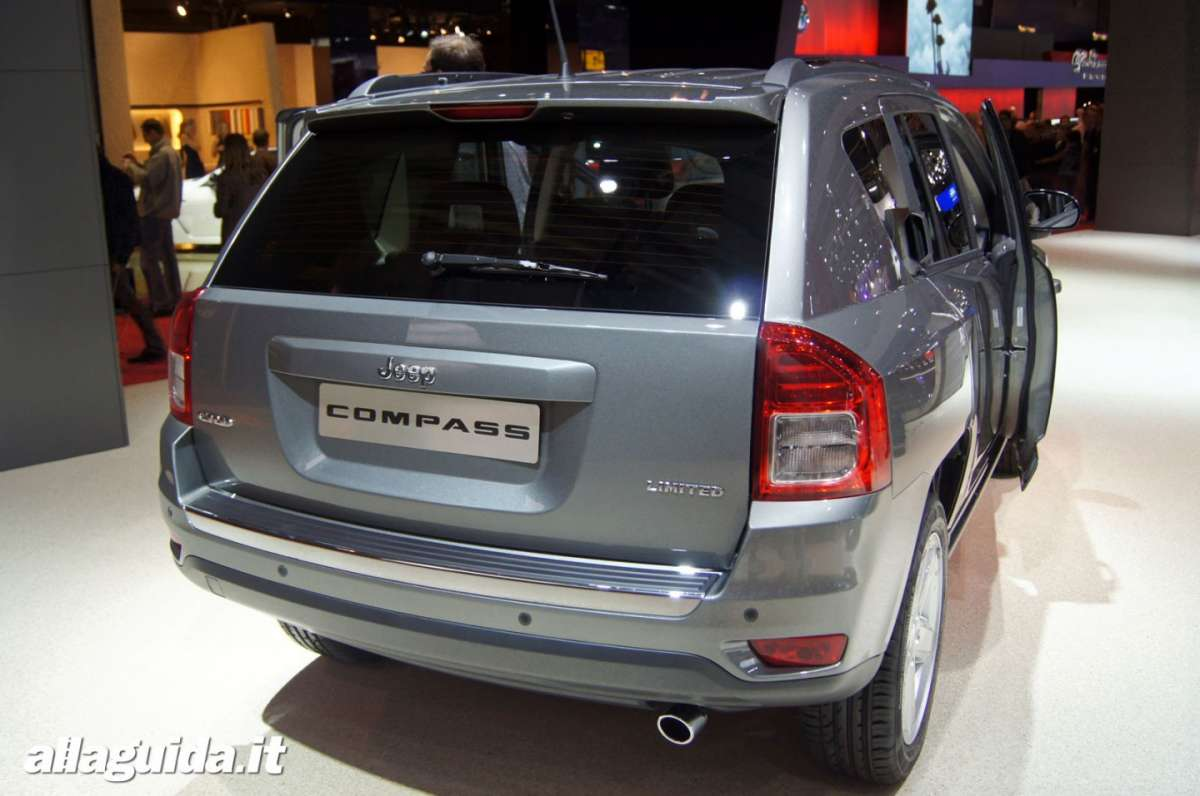 Jeep Compass, Salone di Parigi 2012 - 04