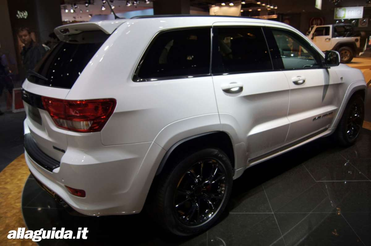 Jeep Grand Cherokee SRT-R, Salone di Parigi 2012 - 06