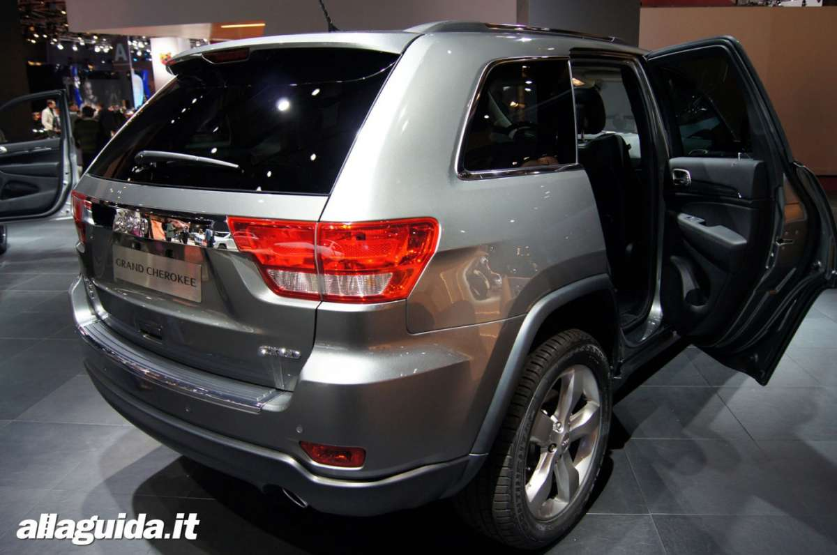 Jeep Grand Cherokee, Salone di Parigi 2012 - 02