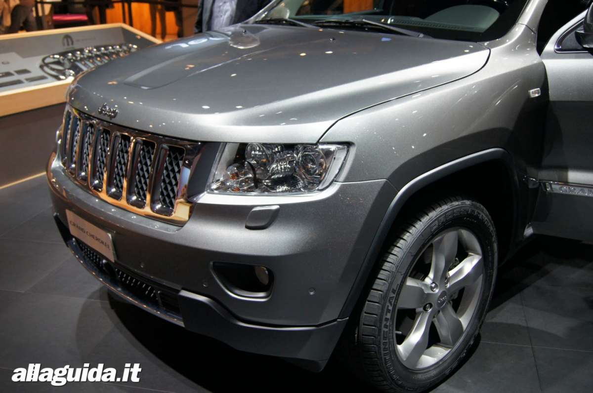 Jeep Grand Cherokee, Salone di Parigi 2012 - 05