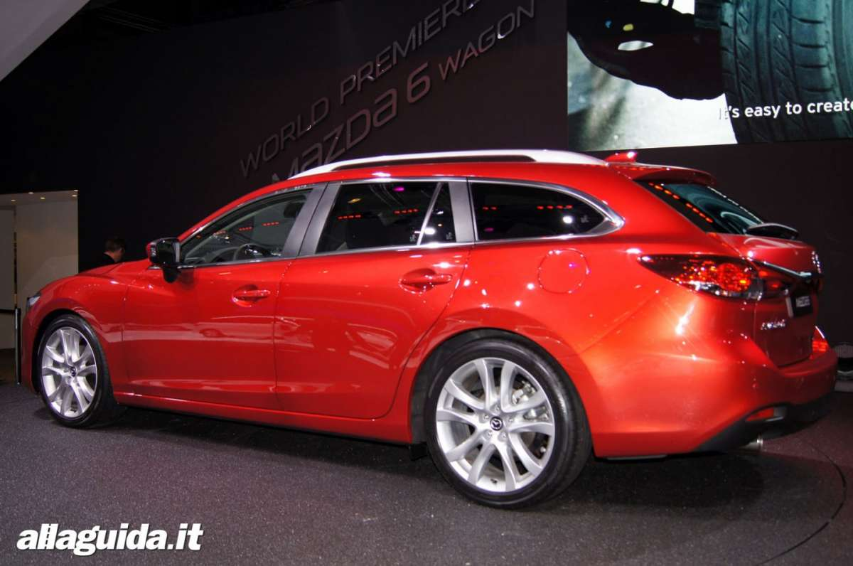 Mazda 6 station wagon, Salone di Parigi 2012 - 01