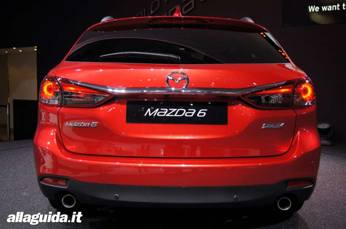 Mazda 6 station wagon, Salone di Parigi 2012 - 04